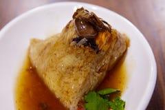 Dragon Boat Festival, culin?ria tradicional, costeleta feito a m?o da carne fotografia de stock royalty free