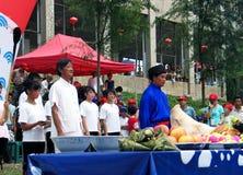 Dragon Boat Festival in Guizhou Huishui Stock Photo