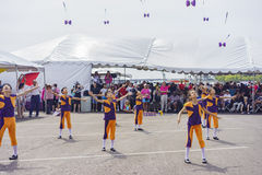 Dragon Boat Festival. JUL 30, Long Beach: Chinese YoYo show perform in the Dragon Boat Festival on JUL 30, 2016 at Long Beach, California Royalty Free Stock Photo