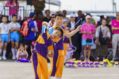 Dragon Boat Festival. JUL 30, Long Beach: Chinese YoYo show perform in the Dragon Boat Festival on JUL 30, 2016 at Long Beach, California Royalty Free Stock Images