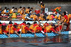 2013 Dragon Boat Festival in Kaohsiung, Taiwan Stock Fotografie