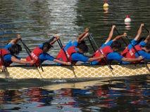 2013 Dragon Boat Festival in Kaohsiung, Taiwan Royalty-vrije Stock Foto's