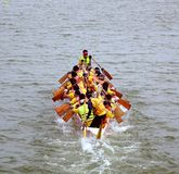 2014 Dragon Boat Festival in Kaohsiung, Taiwan Stock Foto's