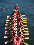 The 2013 Dragon Boat Festival in Kaohsiung, Taiwan Stock Photography
