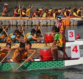 The 2013 Dragon Boat Festival in Kaohsiung, Taiwan Royalty Free Stock Image