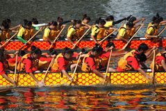 The 2013 Dragon Boat Festival in Kaohsiung, Taiwan Stock Photos