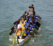 The 2014 Dragon Boat Festival in Kaohsiung, Taiwan Stock Photos