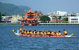 The 2014 Dragon Boat Festival in Kaohsiung, Taiwan Stock Images