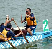 The 2014 Dragon Boat Festival in Kaohsiung, Taiwan Royalty Free Stock Photos