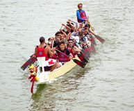 The 2014 Dragon Boat Festival in Kaohsiung, Taiwan Royalty Free Stock Photography