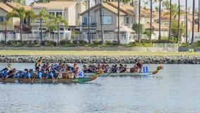 Dragon Boat Festival. Long Beach, APR 23: Dragon Boat Festival on APR 23, 2017 at Long Beach, California Stock Image