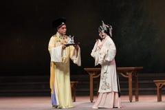 """Dragon Boat Festival - Opera""""Madame den vita Snake†för tredje vin-Kunqu för handlingsmanguling en Royaltyfria Bilder"""