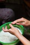 Dragon Boat Festival package dumplings Royalty Free Stock Images