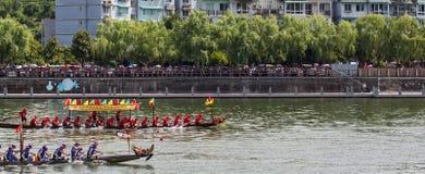 Dragon Boat Festival Race Immagine Stock Libera da Diritti