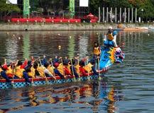 2013 Dragon Boat Festival in Taiwan Stock Afbeeldingen