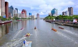 2016 Dragon Boat Festival in Taiwan Royalty-vrije Stock Fotografie