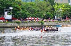 2016 Dragon Boat Festival in Taiwan Royalty-vrije Stock Foto