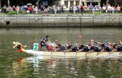 2016 Dragon Boat Festival in Taiwan Stock Foto's