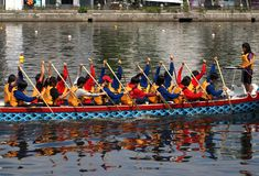 The 2013 Dragon Boat Festival in Taiwan Stock Images