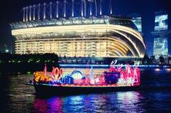 Dragon Boat i Guangzhou Kina arkivfoton