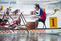 Dragon Boat Race Stock Photography