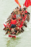 Dragon Boat Race. Photo taken on: June 5, 2011 The Dragon Boat Festival, china guangxi state holding dragon boat RACES royalty free stock photography