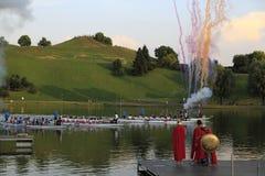 Dragon Boat Race lizenzfreies stockfoto