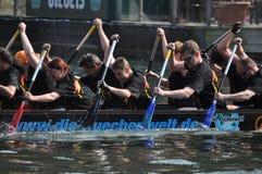 Dragon Boat Race Royaltyfria Bilder