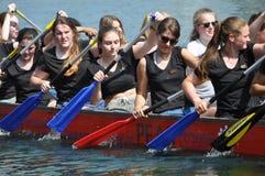 Dragon Boat Race Arkivbild