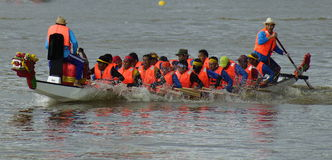 Dragon Boat Race Stockbild