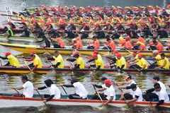 Dragon Boat Race Lizenzfreie Stockbilder
