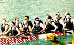 Dragon Boat Race Royalty Free Stock Photos