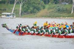 Dragon Boat Race Royaltyfri Bild