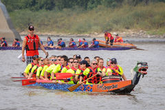 Dragon Boat Race Arkivbilder