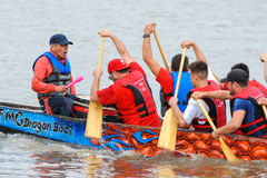 Dragon Boat Race Photographie stock libre de droits