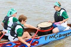 Dragon Boat Race Immagine Stock