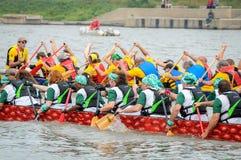 Dragon Boat Race Fotografering för Bildbyråer