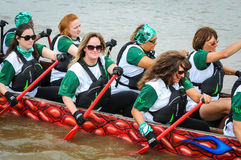 Dragon Boat Race Royaltyfria Foton