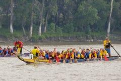 Dragon Boat Race Fotografia Stock Libera da Diritti