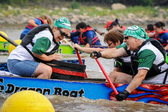 Dragon Boat Race Images libres de droits