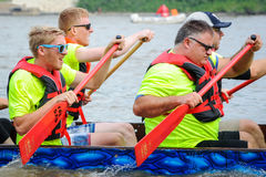 Dragon Boat Race Fotografie Stock