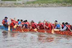 Dragon Boat Race Stock Foto's