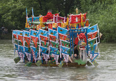 Dragon boat race in China Royalty Free Stock Image