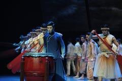 Dragon Boat Race - De derde handeling van de gebeurtenissen van dans drama-Shawan van het verleden royalty-vrije stock fotografie
