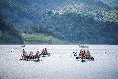 Dragon Boat Race Royalty Free Stock Photography
