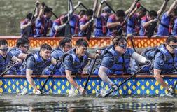 Dragon Boat Race em Dragon Boat Festival fotografia de stock