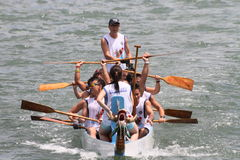 Dragon boat race in Hong Kong Royalty Free Stock Photography