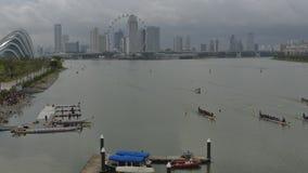 Dragon Boat stock video