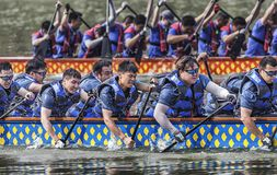 Dragon Boat Race On Dragon Boat Festival Stock Photography