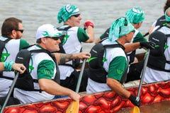 Dragon boat race Royalty Free Stock Photos
